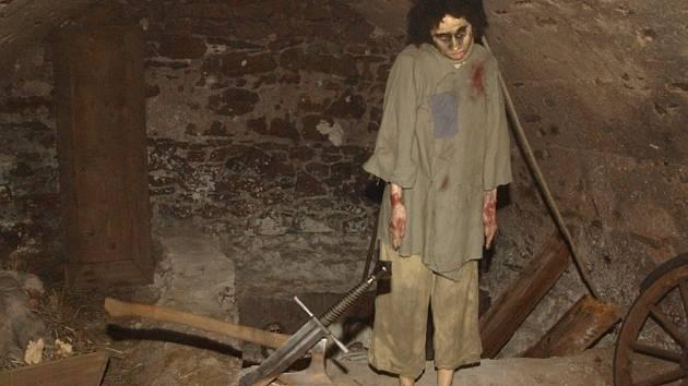 Hrůzy mučíren zažijí návštěvníci nejen na vlastní oči, ale i na vlastní kůži.