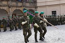 Studenti vojenské školy v Moravské Třebové se zúčastnili slavnostního slibu