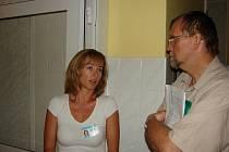 V rámci inspekčních cest navštívil hejtman Radko Martínek nemocnici v Litomyšli.