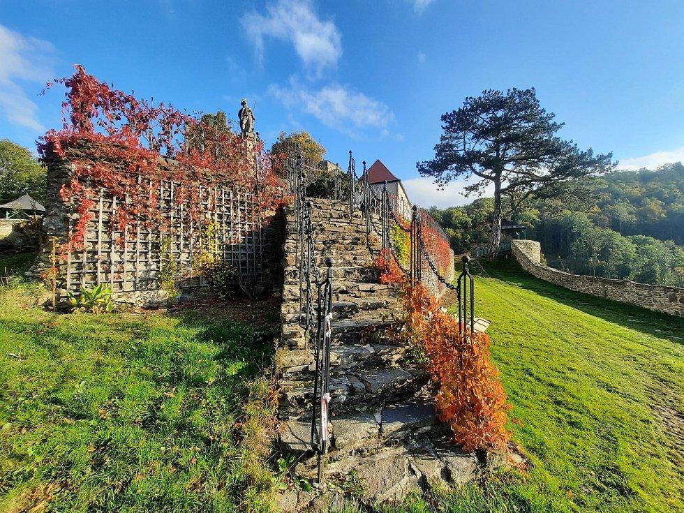 Podzimní idylka na hradě Svojanov poslední víkend