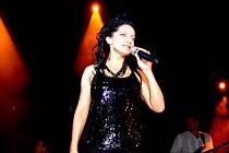 Z koncertu Lucie Bílé ve Svitavách.