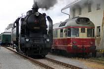Oslavy 120. výročí provozu na trati Polička – Žďárec u Skutče.