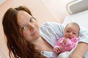 ROZÁLIE KUSÁ. Narodila se 11. května Lucii Jílkové a Marku Kusému z Budislavi. Měřila 48 centimetrů a vážila 2,95 kilogramu.