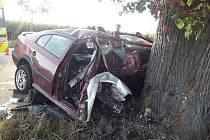 Mladý řidič nezvládl řízení