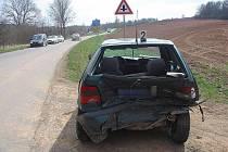 Nehoda v Křenově si vyžádala 4 zraněné osoby.