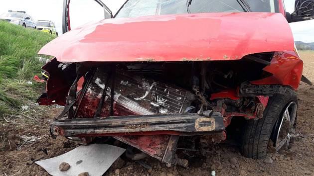 Dopravní nehoda u Městečka Trnávky