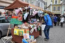 Vánoční trhy v Litomyšli.