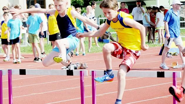 Svitavský stadion nabídl mladým atletům a atletkám z Pardubického kraje ideální podmínky ke kvalitním výkonům.