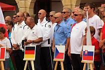 Slavnostní nástup evropských týmů na EGC 2017.