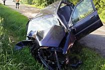 Dopravní nehoda v Poličce.