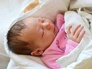 ELEN SMOLOVÁ. Narodila se 24. května Markétě Kopřivové a Pavlu Smolovi z Vendolí. Měřila 50 centimetrů a vážila 3,45 kilogramu.