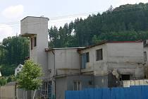 Prázdný objekt bývalé mlékárny v Městečku Trnávka