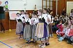 Masopust v Morašicích v režii školy.