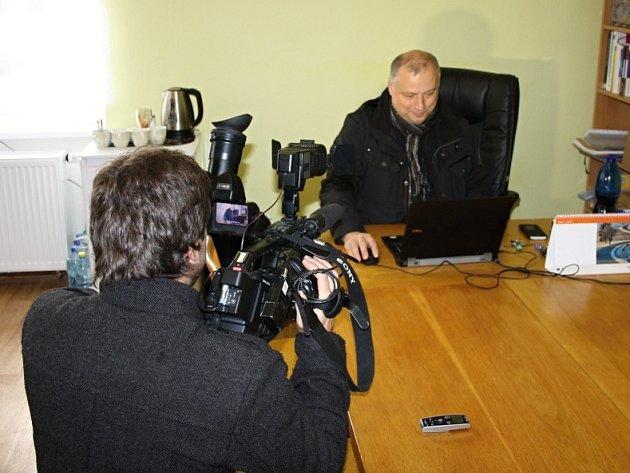 Starosta Květné Petr Škvařil.