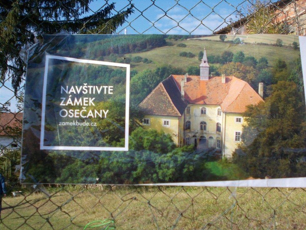 Návštěva zámku Osečany.