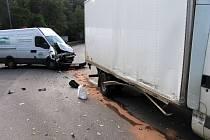Objížďka v Litomyšli způsobila další nehodu.