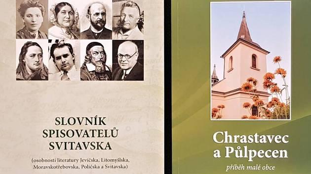 Učitelé ze svitavského gymnázia vydávají knihy.