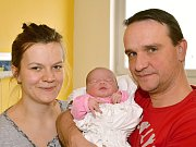 ANNA MARŠÁLKOVÁ. Narodila se 18. února Veronice Maršálkové a Lukáši Tisovskému  z Poličky. Měřila 51 centimetrů a vážila 3,55 kilogramu.