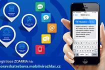 V souvislosti se zlepšováním informovanosti veřejnosti ve městě zavedli novou službu, a sice Mobilní rozhlas.
