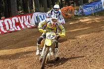 Na trati v jihočeském Kramolíně u Nepomuku pokračovalo domácí mistrovství motokrosařů třetím dílem a jezdci Orion Teamu Litomyšl byli opět hodně vidět.