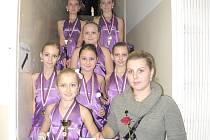 Mažoretky kadetky z Moravské Třebové ze zúčastnily soutěže o pohár Lanškrounské koruny se skladbou od Verony Hey Boy.