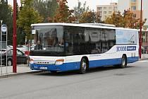 Nový autobus si mohli lidé vyzkoušet na trase Polička - Svitavy.