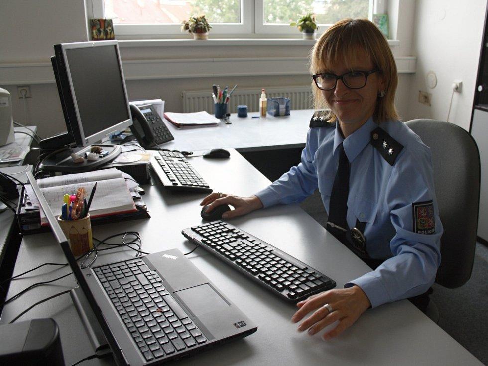 Hana Kaizarová ze svitavské policie