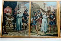 Čtrnáct pláten se zpodobením utrpení Krista zmizelo z fary v Bohuňově.