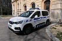 Vozidlo městské policie ve Svitavách