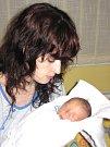 DAMIÁN KULAXIDIS. Přišel na svět 4. března v 7.54 hodin v Litomyšlské nemocnici. Vážil 2,95 kilogramu a měřil 49 centimetrů. S rodiči Michaelou a Jiřím bude doma v Rudolticích.