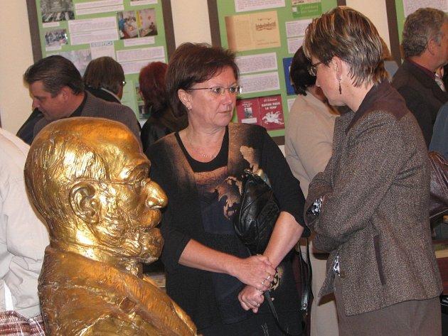Slavnostní otevření muzea esperanta ve Svitavách.