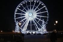 Vánoční Paříž.