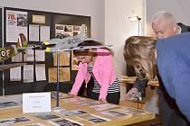 Výstava a přednáška v Litomyšli k sedmdesátému výročí od konce druhé světové války.