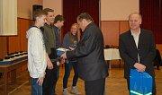 Ocenění pro nejlepší sportovce v Poličce z řad mládeže.