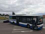 Tragická dopravní nehoda autobusu a dodávky u Koclířova.