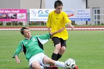 Pěknou fotbalovou podívanou okořeněnou výhrami připravili svým  fanouškům svitavští žáci.