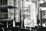 Generální stávka v roce 89 ve Svitavách.