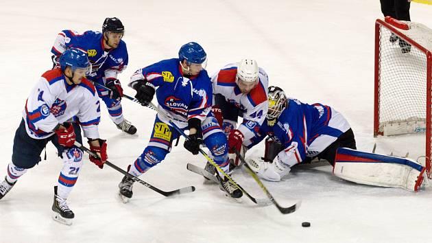 HC Litomyšl vs. HC Slovan Moravská Třebová.