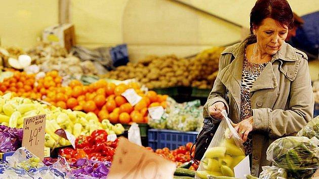 Farmářské trhy v Litomyšli.