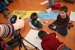 Animační dílny v Trnce už podruhé přilákaly spoustu kreativních malých umělců.