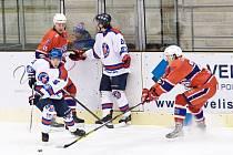 Z utkání HC Litomyšl vs. HC Hlinsko (2:6).