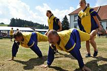 CESTA K TITULU nebyla snadná, účastníci soutěže museli zdolat řadu disciplín.
