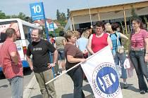 Učitelé ze Svitav odjíždějí do Prahy stávkovat.