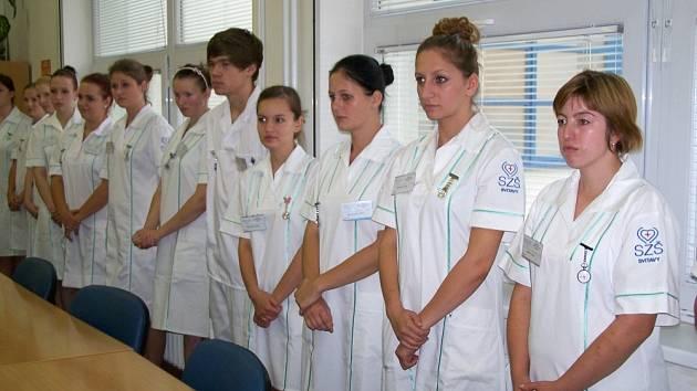 Svitavská nemocnice přivítala budoucí zdravotnické asistenty.