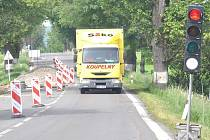 Semafory řídí mezi Svitavami a Koclířovem dopravu hned na dvou místech.