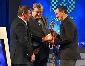 Vyhlášení nejúspěšnějších sportovců regionu Svitavska za rok 2017 v Tylově domě v Poličce.