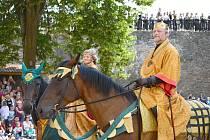 Královské slavnosti patří na hradě Svojanov mezi oblíbené akce a nebudou chybět ani v letošním roce.