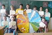 Ocenění studenti ze Základní školy U Školek
