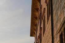 Detail zdi litomyšlského zámku.