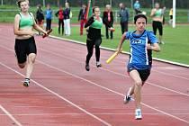 Štafeta podtrhla úspěch litomyšlských mladších žáků. Připsali si v ní jedno z pěti prvenství v rámci krajského finále.